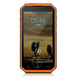 Land rover v8 rugged phone 5 inch waterproof outdoor tough military mobile phone