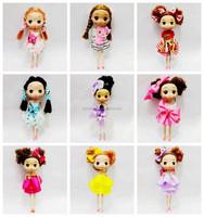 18cm fashion plastic korea ddung dolls vinyl craft dolls