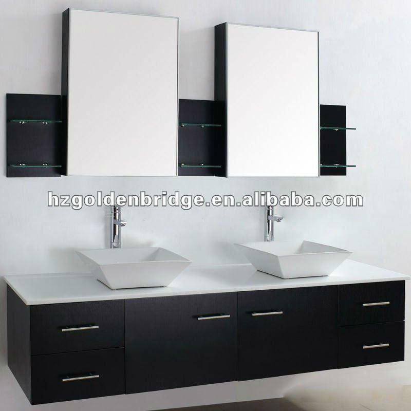 Meubles de luxe 72 salle de bain vanit double vasque p002 - Meuble salle de bain de luxe ...