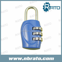 three dial code plastic combination lock box