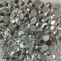 always shiny strong glue ss20 5mm crystal hot fix rhinestones 1440 pcs per bag for Mobile phone protection shell