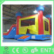 Cheap inflatable castle combo with slide, inflatable bouncer combo