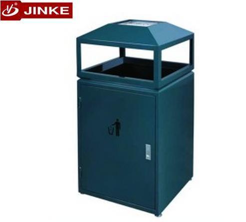 Jinke de no l galvanis jardin cendrier poubelles m tal for Cendrier de jardin