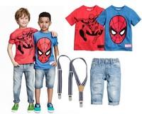 Children Wear Kids Clothes Spider Man Baby Clothing 3 Piece Baby