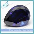 atacado pêra azul pedras semi preciosas