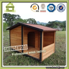 Chinese Fir Wood Outdoor Designer dog kennels