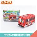 Modern pilhas brinquedo do carro, elétrico de brinquedo ônibus