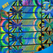 Strong Permanent Adhesive holographic heat transfer label paper