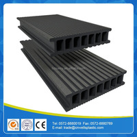 wpc decking prices Hollow and grooved composite flooring