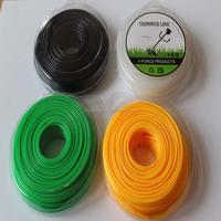 Being Sold 2.0mmX10M Zigzag Nylon trimmer line garden cutting line for trimmer