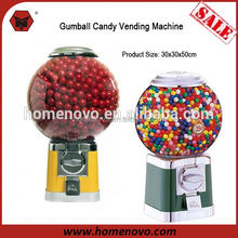 50cm height pmma material capsule/candy/gumball vending machine