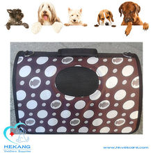 colorful canvas pet cat dog carrier bag