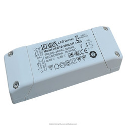 Constant current Triac Dimmable led driver , AC-DC 18W Led driver