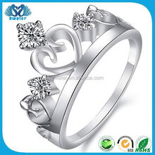 Fashion Jewelry King And Queen Engagement And Wedding Ring
