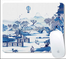 Blue&White Porcelain Edges Wrapped Antique Mouse Mats