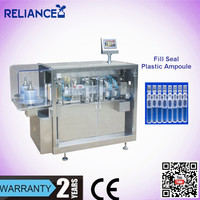 R-VF-A plastic ampoule eye wash pod forming filling sealing machine