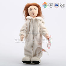 Plush aduit ugly doll costume,good and evil doll costume