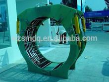 Inducción abrazadera bobinas para inducción tubería de calefacción conjunta