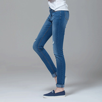 Ripped High Waist Wholesale Skinny Denim Blue Monkey italy man jeans