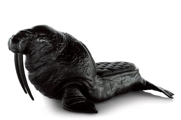 характеристики моржа Кресла кожаные сиденья