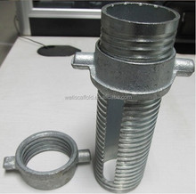 scaffold shoring adjustable prop nut