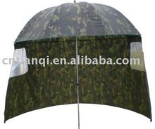 2014 new high quality camouflage polyester fishing umbrella tent