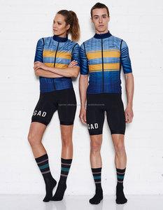 Winddicht & Wasserdicht Atmungsaktiv Radfahren Kleidung Sublimation Radfahren Jersey Hersteller