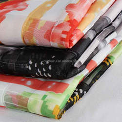 100% polyester 900d printed oxford waterproof polyester crepe knitted fabric quick dry made in china