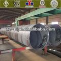 De gran diámetro con costura en espiral de tuberías en la venta, soldadura por arco sumergido
