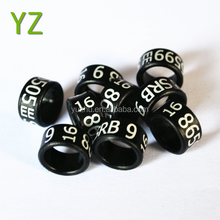 2016 fancy pigeon ring for internation black color with good plastic material by YZ factorhy