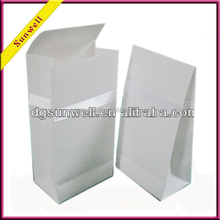 Sell well rice color white paper bag health food package for fast small food
