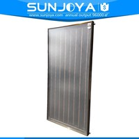 Flat Plate All Copper Absorber Black Chromium Selective Hot Air Solar Collector