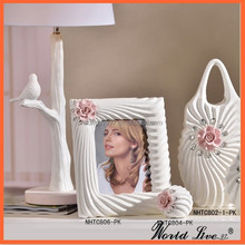 NHTC806-PK Hot Sale Ceramic Gift Items Wholesale for Picture Frame