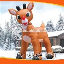 Reno hinchable/de navidad renos/inflable de navidad renos para la venta
