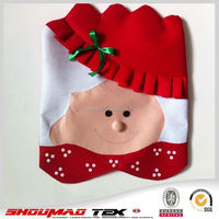 Hot selling fancy christmas chair cover ideas