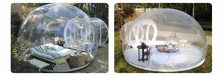 camping en plein air blanc igloo gonflable bulle transparente tente gonflable tente de camping. Black Bedroom Furniture Sets. Home Design Ideas