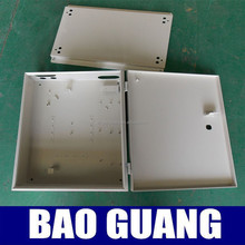 L type three phase outdoor plastic electric meter box cover
