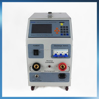 Online monitoring discharge uniform charge floating charge data lead acid battery discharge tester