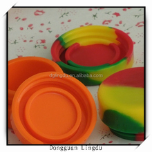 Container silicone jars or wax oil extract bho,non stick silicone container concentrate oil,ball non-stick concentrate silicone