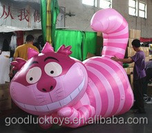inflatable cartoon cat model /inflatable animal
