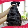 6a الصف عذراء البرازيلي لحمة الشعر التمديد الإنسان، ينسج الشعر التمديدتشابك الخطوط 100g للبيع