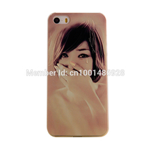 Phone Cases MOBILE CASES 3D relief process For iPhone 5 5S Oriental girl