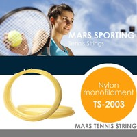 synthetic gut nylon monofilament tennis strings 12m/set for tennis racket/amber