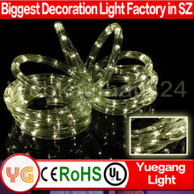 Chistmas decoration led rope lights walmart with factory price