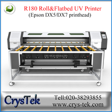 1.8m flatbed and roll to roll printer/ R180 UV printer/ dx7 head printer