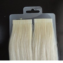 remy human hair double sided tape hair extensions