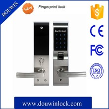 Good selling electronic key code fingerprint lock touch screen