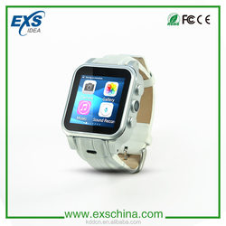 New product for EI WA8 living waterproof Android smart watch mobile phone bluetooth headphone 3G gps tracker 1.54inch screen