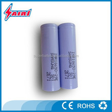 Ultra power rechargeable long life18650 samsung single cells for battery pack