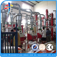 making machine of corn flour and corn grits small corn mill grinder for sale